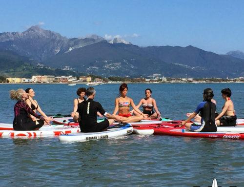 Il Sup incontra lo Yoga e il Pilates