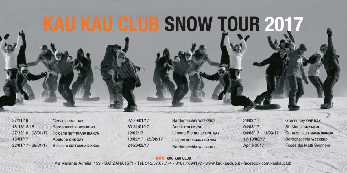 kaukau snow tour date