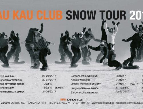 Via al Kau Kau Club Snow Tour 2017!!
