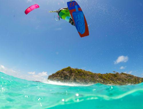 Saltare, il vero godimento del kitesurf