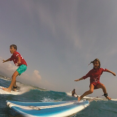1 LEZIONE surf