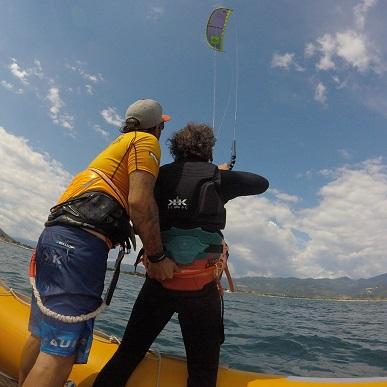 corso breve kitesurf bodydrag