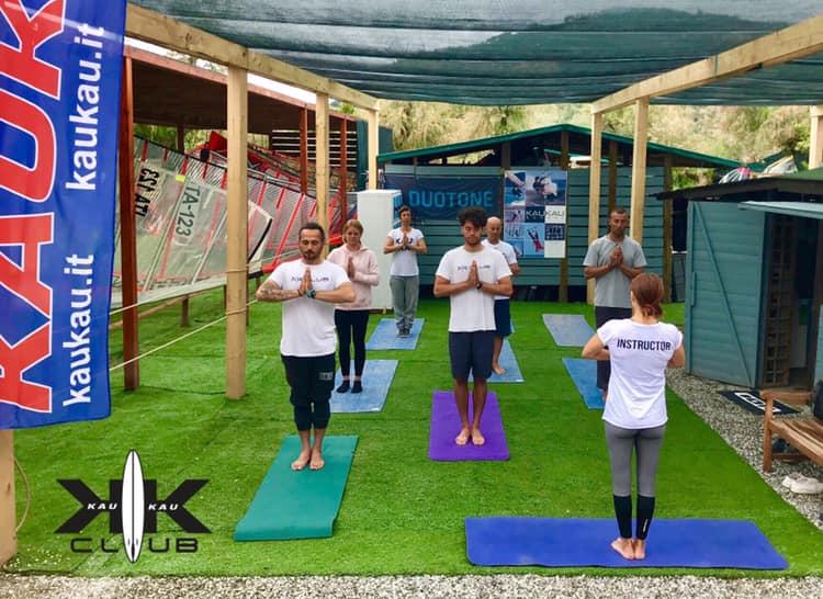 lezione di yoga in omaggio a kaukau club sabato 25 aprile 2019
