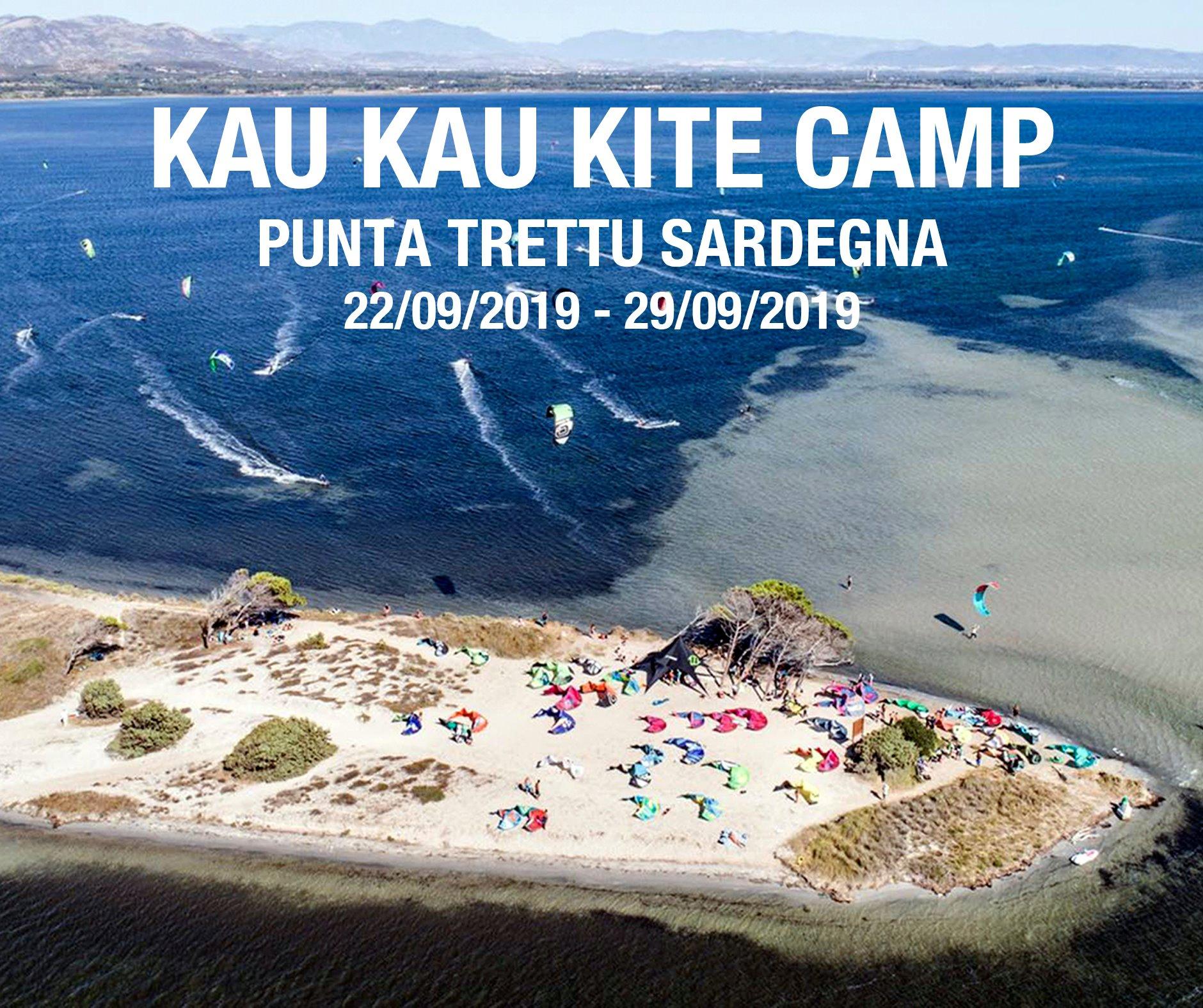 Kaukau club camp Punta Trettu