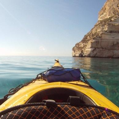 Lezioni kayak 1